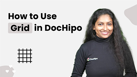 How to Use Grid in DocHipo