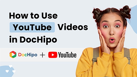 Use YouTube Videos in Dochipo