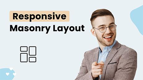 Responsive Masonry Grid Layout in DocHipo