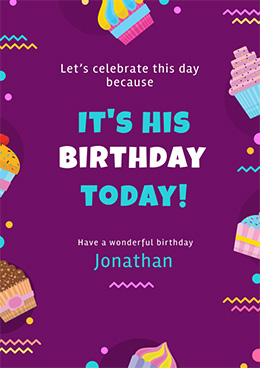 birthday-poster-template