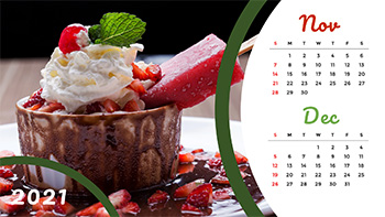 food-calendar-template