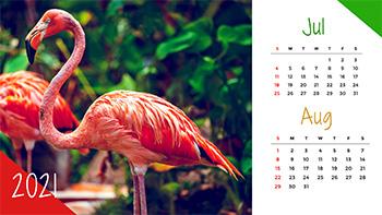 wildlife-calendar-template