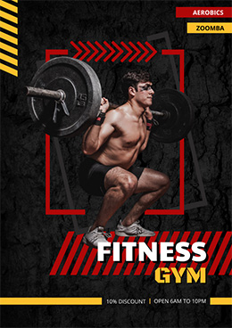 gym-poster-template