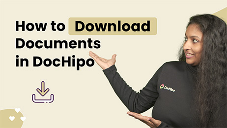How to Download Documents in DocHipo